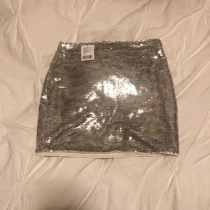 Urban sequin skirt